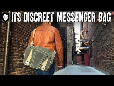 ITS Discreet Messenger Bag Walkthrough