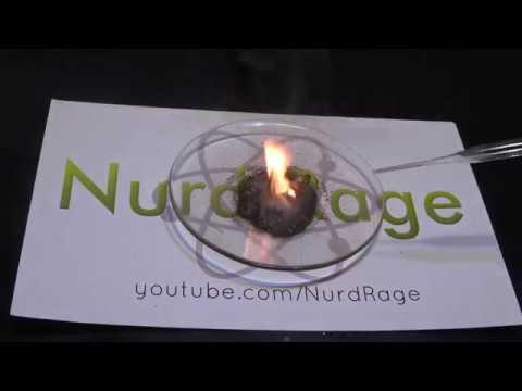 Make Fire with Potassium Permanganate