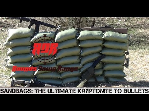 Sandbag: The Ultimate Kryptonite To Bullets