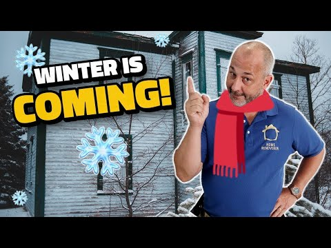 Get Your House Winter Ready!