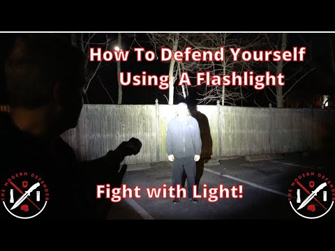 How to use a Flashlight for Self-Defense: Fight with Light