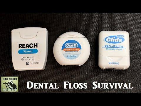 Dental Floss Survival Hacks 20 + Uses