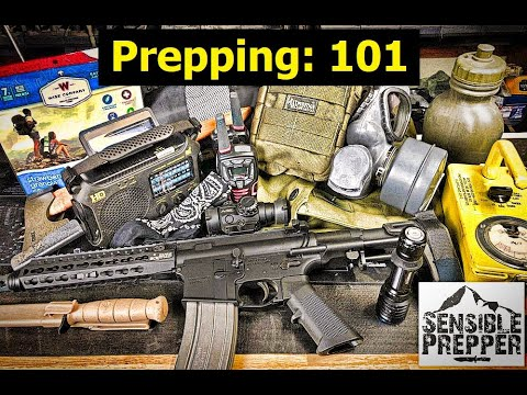 Prepping : 101 for Beginners