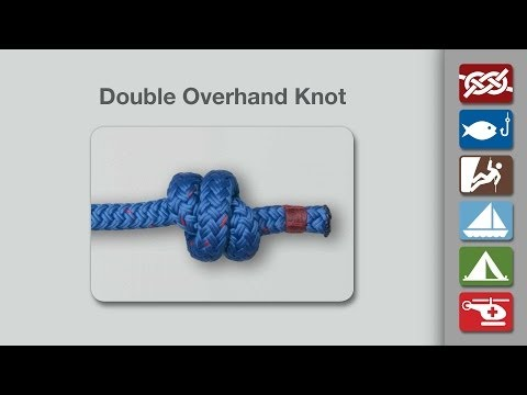 Double Overhand Knot | How to Tie the Double Overhand Knot