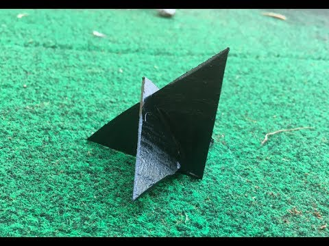 4 Steps To Building: Homemade Ninja Caltrops For Less the $3