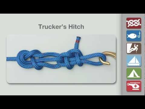 How to Tie a Trucker's Hitch