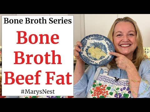 How to Use Beef Fat or Beef Tallow from Bone Broth
