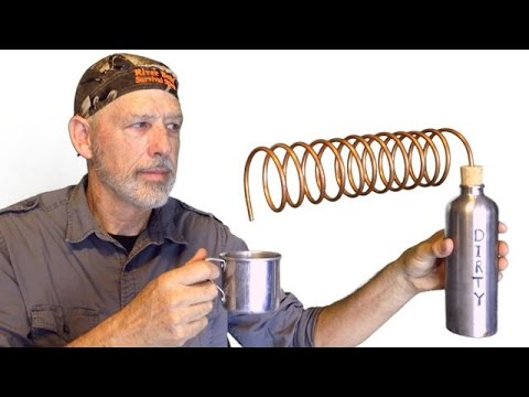 Simple Water Distillation for Bushcraft and Survival