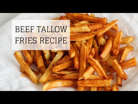 Beef Tallow Fries Recipe | HEALTHY & DELICIOUS | Bumblebee Apothecary