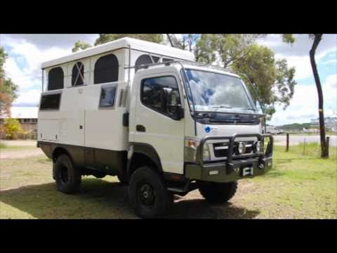 Earthcruiser overland rv expedition vehicle