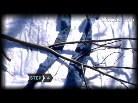 How to Make Emergency Snowshoes