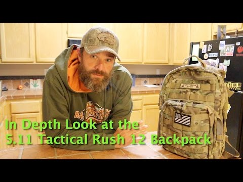 511 Tactical Rush 12 - In Depth Review - Out West with Chris