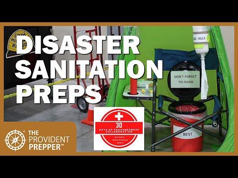 Disaster Sanitation Preps - 30 Days of Preparedness Collaboration