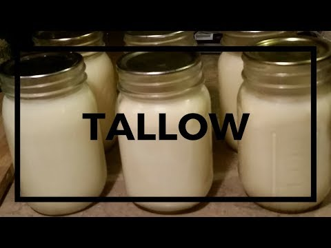 How to Render Beef Fat || Making Tallow