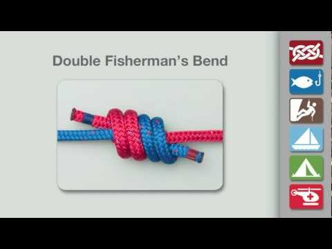 How to Tie the Double Fisherman's Knot