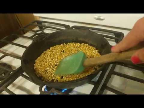 Parched Corn Recipe Survival Comfort Food