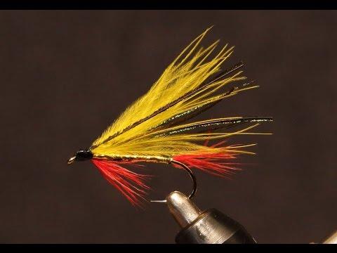 Yellow Marabou Streamer - #3 In My Beginning Fly Tying Series