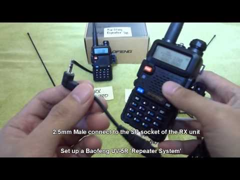 Set up a Baofeng UV-5R Repeater System