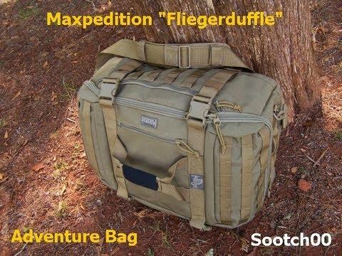 "Fliegerduffle ""Adventure Bag"" Maxpedition"