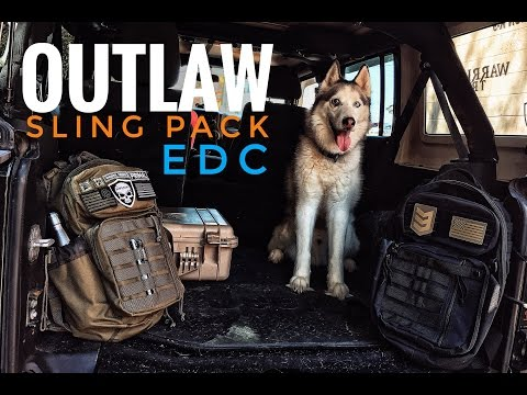 My EDC - Every Day Carry w/ The 3V Gear Outlaw Sling Pack