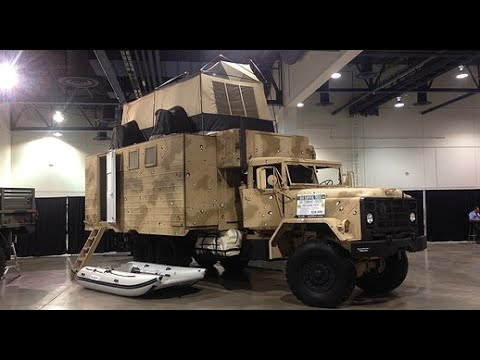 Rona survival vehicle by Plan B Supply - 6 wheel drive expedition RV