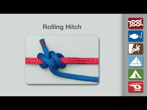 Rolling Hitch | How to Tie a Rolling Hitch