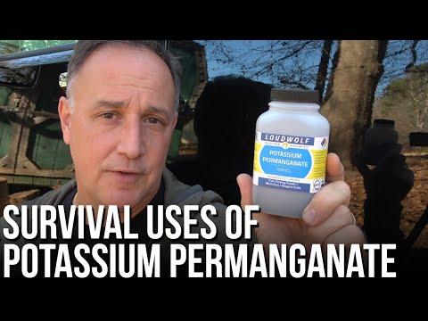 Survival Uses of Potassium Permanganate