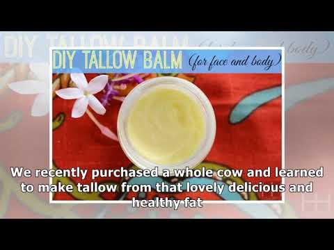 DIY Tallow Balm