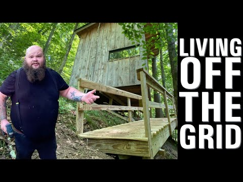 OFF GRID CABIN LIVING IN TENNESSEE