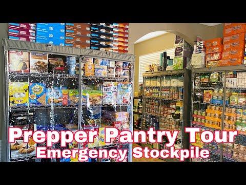 Prepper Pantry Tour | Emergency Food Stockpile