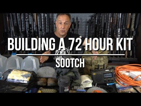Building a 72h Emergency Preparedness Kit - More Than Just a Bug Out Bag!