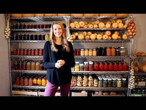 Homestead Pantry Tour | Self-Sufficiency and Food Storage