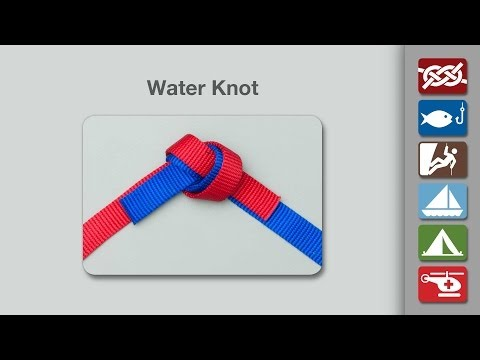 Water Knot | How to Tie the Water Knot