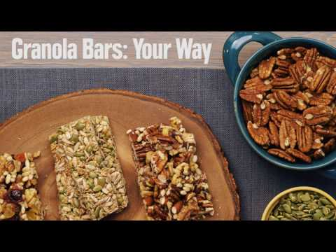 Granola Bar Recipe: Make it Your Way
