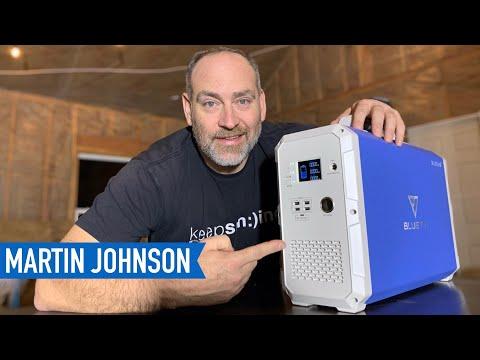 EASIEST Off Grid Power Solution | Bluetti 2400WH Solar Generator