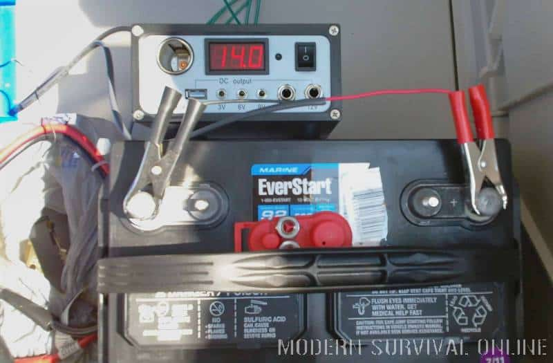 off grid battery and inverter