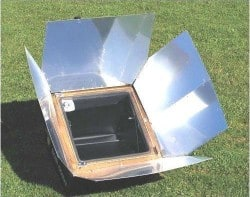 sun oven, solar, cooker, camping, preparedness, survival, supplies, off grid,