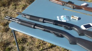 Shot Patterns of Different 12 Gauge Loads – 1/7/12