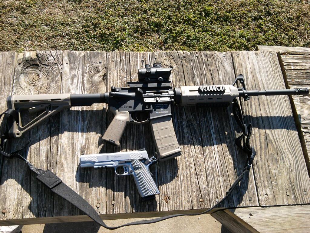SHTF, gun, weapon, firearm, defense, go to gun, AR, 5.56, survival, preparedness,