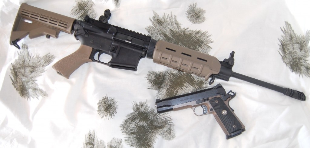 SHTF, TSHTF, go to gun, survival, preparedness, gun, firearm, weapon, AR, Wilson Combat,