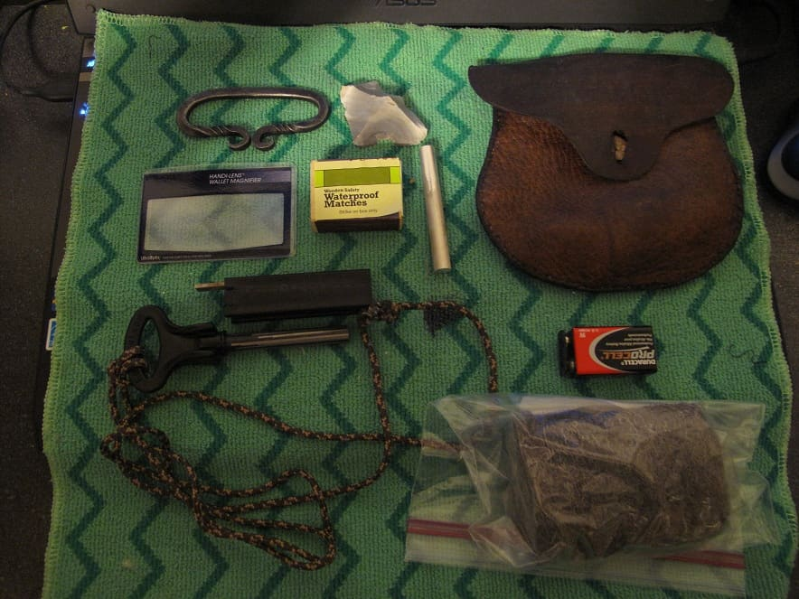fire kit, fire, fire starting, kit