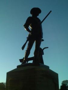 Minuteman, Concord Mass.