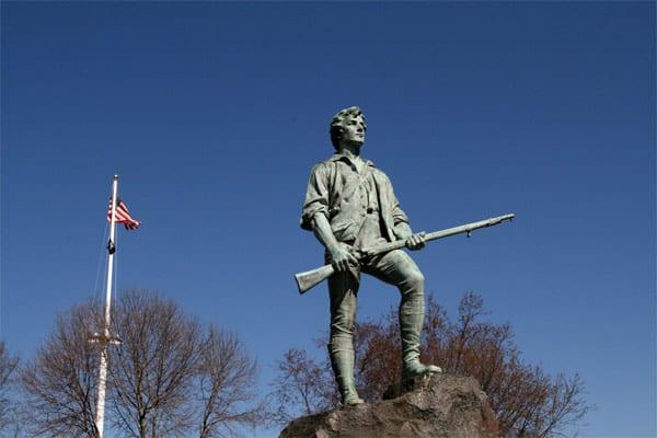 Lexington Minuteman Statue - Lexington, Mass.