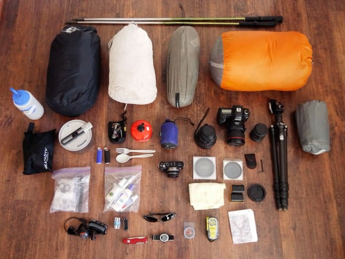 summer backpacking gear