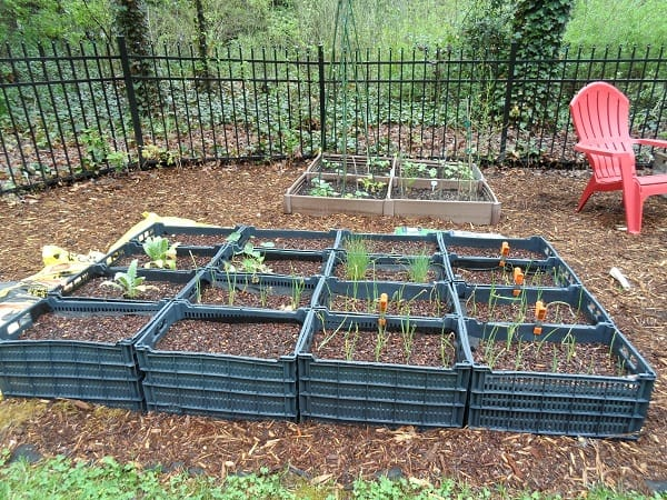 Plastic Crate Beds