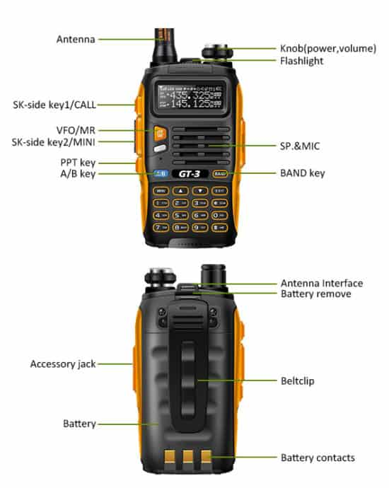 Review Baofeng Gt 3 Handheld Ham Radio