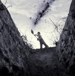 grave-digging