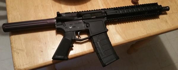 new AR pistol