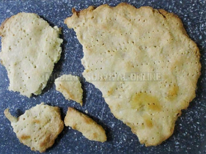 hard-tack biscuits