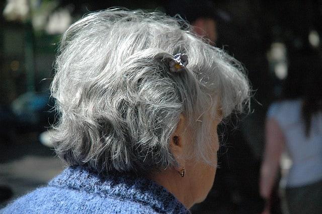 gray woman